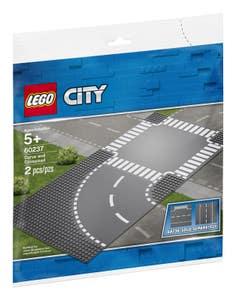 LEGO® City Supplementary 60237 Curvas y Cruce
