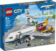 LEGO City Airport Avión de Pasajeros 60262