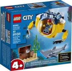 LEGO® City Oceans 60263 Océano: Minisubmarino