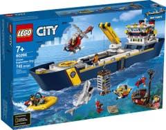 LEGO City Oceans Océano: Buque de Exploración 60266