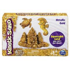Kinetic Sand Gemas Preciosas Spin Master Dorado 6027527