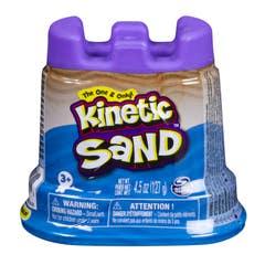 Contenedorde Arena  Kinetic Sand Basico Azul