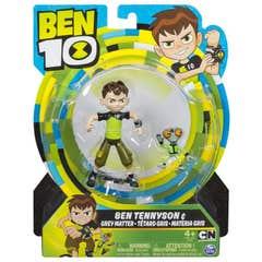 Figura De Acción Ben 10 5 Pulgadas Ben Tennyson 6040143 Ben Tennyson