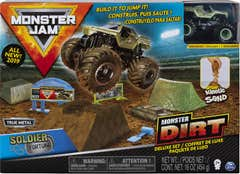 Monster Jam Set de Juego Monster Dirt De Lujo Soldier Fortune