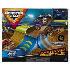 Monster Jam Set de Juego 1:64 Champ Ramp Freestyle