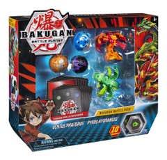 Bakugan Set De Batalla Spin Master 6045132 ventus-pyrus