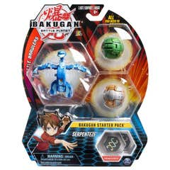 Bakugan Set De Inicio Spin Master Serpenteze 6045144
