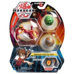 Bakugan Set De Inicio Spin Master Pyrus Mantonoid 6045144