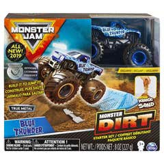 Monster Jam Set de Juego Monster Dirt Básico Megalodon