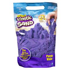 Kinetic Sand Bolsa De Arena De Color Spin Master Morado 6046035