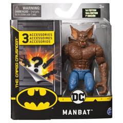Figura Batman  Manbat 4 Pulgadas 6055946-2