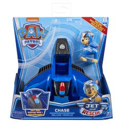Paw Patrol vehículo jet de lujo Chase 6060364