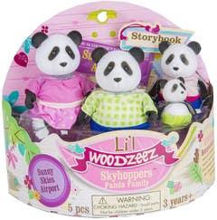 Lil Woodzeez Familia Pandas 6154Z