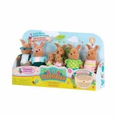 Lil Woodzeez Familia Conejos Con Abuelos 6492Z
