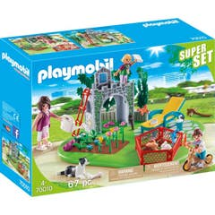 Playmobil 70010 Superset Familia En El Jardin