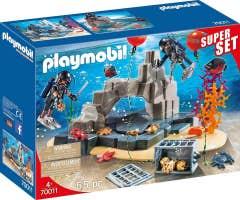 Playmobil 70011 Superset Unidad De Buceo