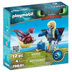 Playmobil 70041 Astrid con Globoglob