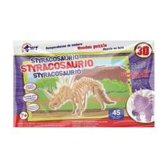 Rompecabezas De Madera 3D Styracosaurio