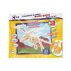 Rompecabezas De Madera 3D Pteranodon