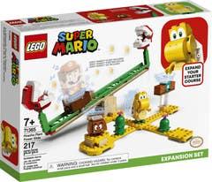 LEGO® Super Mario 71365 Set de Expansión: Superderrape de la Planta Pirańa