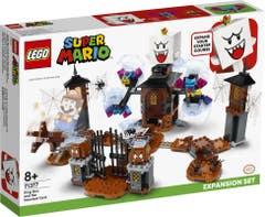 LEGO® Super Mario 71377 Set de Expansión: Rey Boo y el jardín encantado