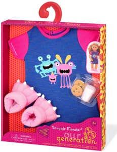 Outfit Pijama Monstruos BD30371Z