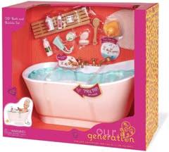 Set de accesorios Bath and Bubbles Our Generation BD37473Z