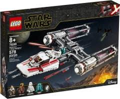 LEGO® Star Wars™ Episode IX 75249 Caza Estelar Ala-Y de la Resistencia