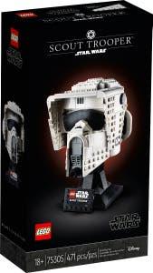 LEGO Star Wars Stormtrooper SpeederBike Helmet 74305