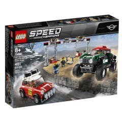 LEGO Speed Champions Mini Cooper S Rally de 1967 y Mini John Cooper Works Buggy de 2018 75894