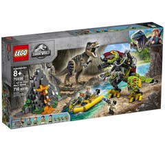 LEGO® Jurassic World™ 75938 T. rex vs. Dinosaurio Robótico