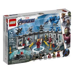 LEGO® Marvel Avengers Movie 4 76125 Iron Man: Sala de Armaduras