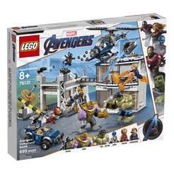 LEGO Marvel Avengers Movie 4 Batalla en el Complejo de los Vengadores 76131