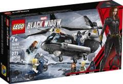 LEGO Marvel Super Heroes Persecución en Helicóptero de Viuda Negra