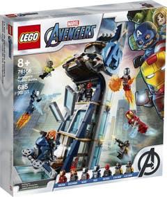 LEGO® Marvel Avengers Movie 76166 Batalla en la Torre de los Vengadores
