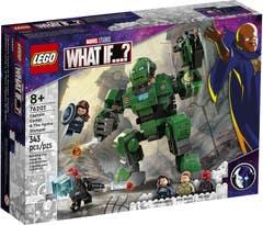 PREVENTA LEGO Marvel 76201 Capitana Carter y el Meca Gigante de Hydra