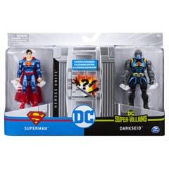 Set Figura DC Universe Aquaman y Manta Negra