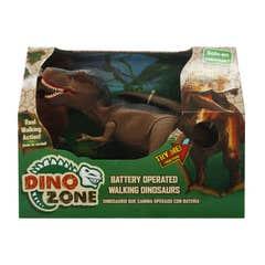 Dino Zone Dinosaurio Que Camina Juguetron Café 80046