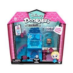 Disney Doorables Playset de temas Bandai Castillo de Hielo 81397