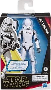 STAR WARS E6706 Star Wars Episodio 9 Figuras de Acción Star Wars Universe Jet Trooper Juguete Hasbro