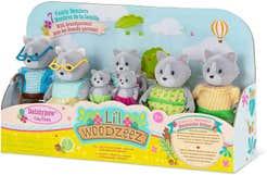 Lil Woodzeez Familia Gatos Con Abuelos WZ6530Z