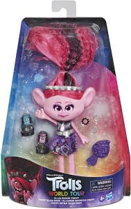 Trolls World Tour Fashion Trolls Deluxe Glam Rockin' Poppy