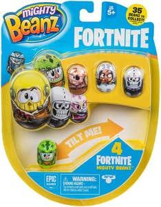 Mighty Beanz Fortnite S1 4 Pack Bandai