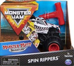 Monster Jam de Fricción 1:43 Spin Master Dalmatian