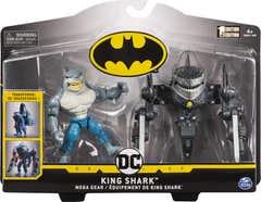 Figura Batman King Shark 4 Pulgadas