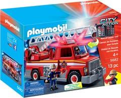 Playmobil 5682 Unidad de Rescate con Escalera