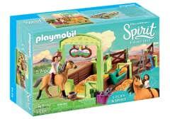 Playmobil 9478 Establo de Lucky y Establo