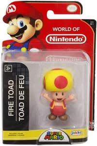 "Figura World Of Nintendo 2.5"" Fire Toad 95087"