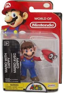 "Figura World Of Nintendo 2.5"" Mario W/ Cappy 95087"