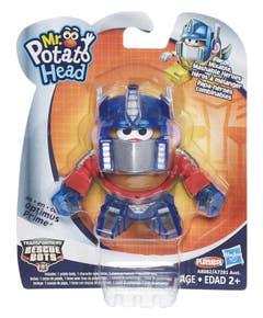 Señor Cara De Papa Optimus Prime Transformers Rescue Bots A8082